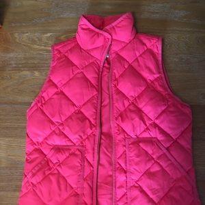 NWOT J. Crew Puffer Vest